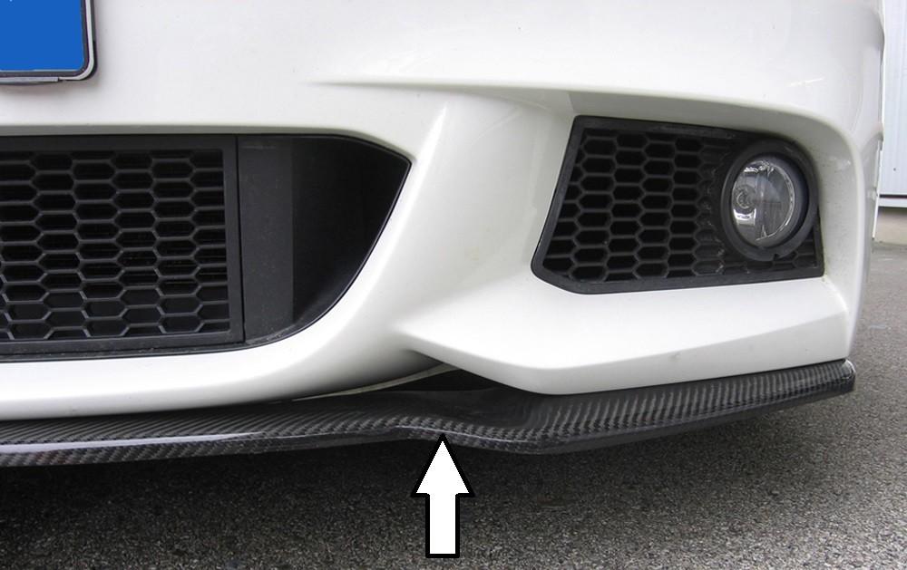 carbon splitter for BMW 5er F10/F11 BMW 5-series F11  (5K/K-N1)