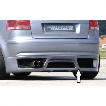 Rieger rear skirt extension   Audi A3 (8P)
