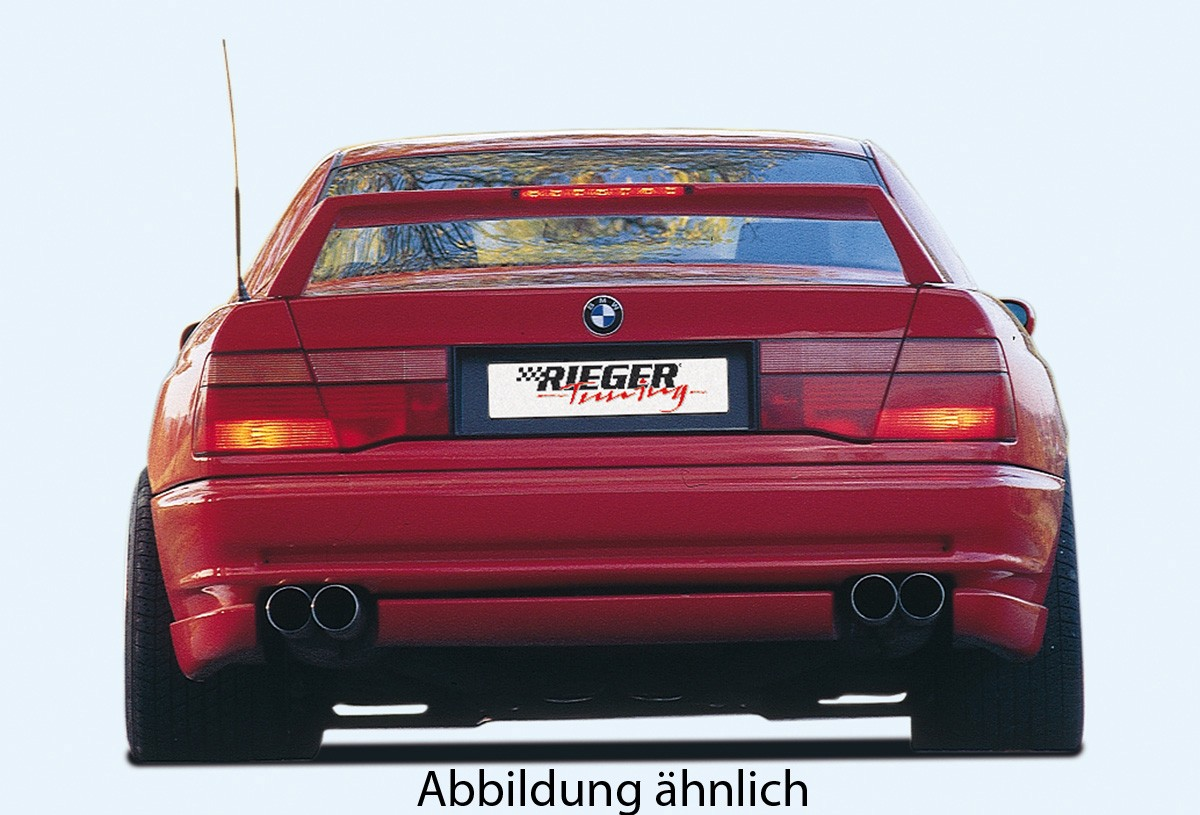 Rieger rear wing BMW 850 E31