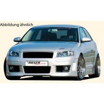 Rieger front bumper   Audi A3 (8P)