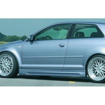 Rieger side skirt   Audi A3 (8P)