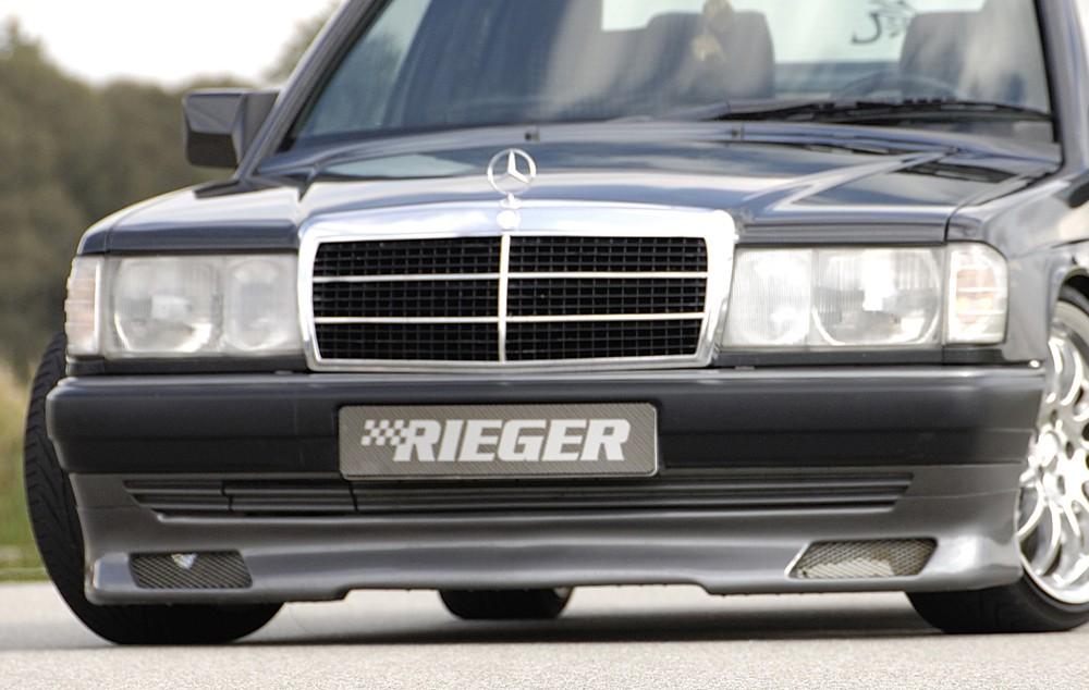 Rieger front spoiler lip Mercedes 190 (W201)