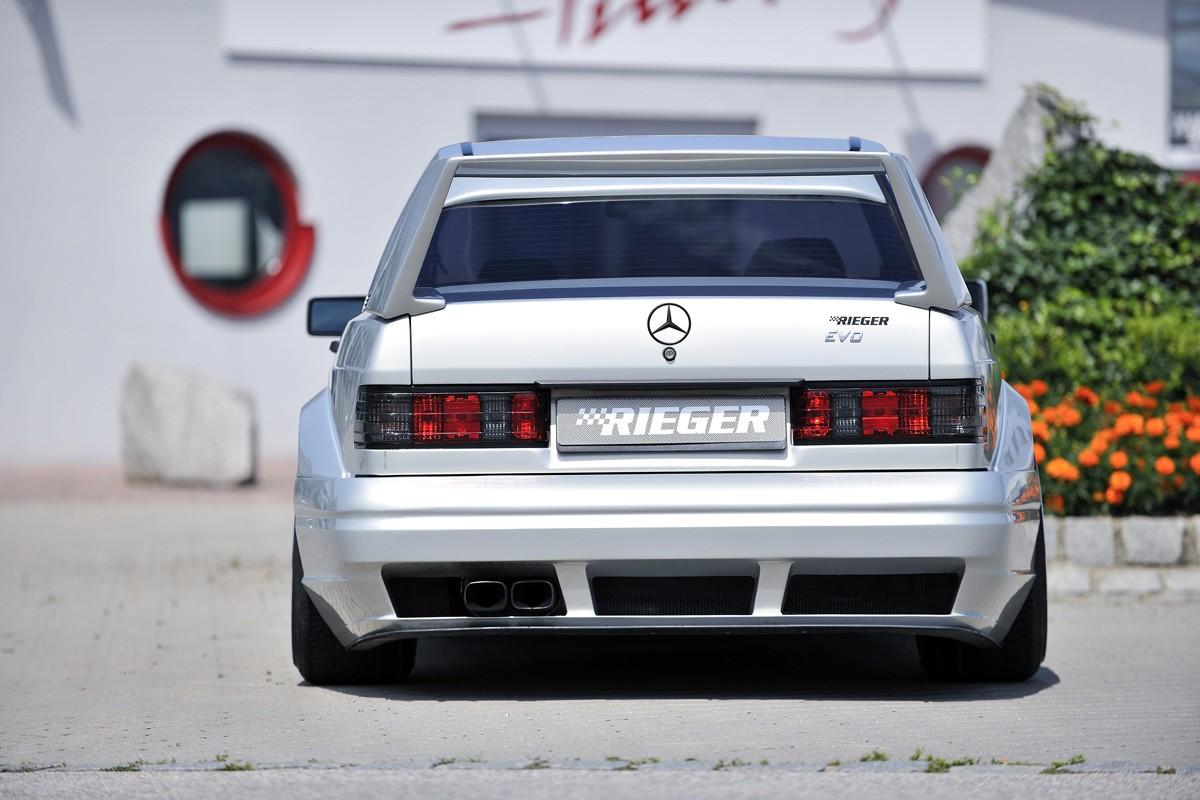 Rieger rear skirt Mercedes 190 (W201)