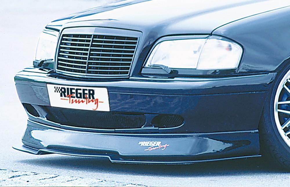 Rieger front spoiler lip Mercedes C-Class (W202)