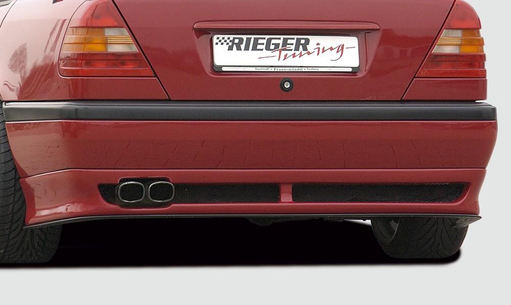 Rieger rear skirt extension Mercedes C-Class (W202)