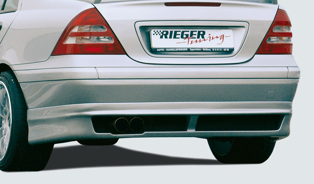 Rieger rear skirt extension   Mercedes C-Class (W203)