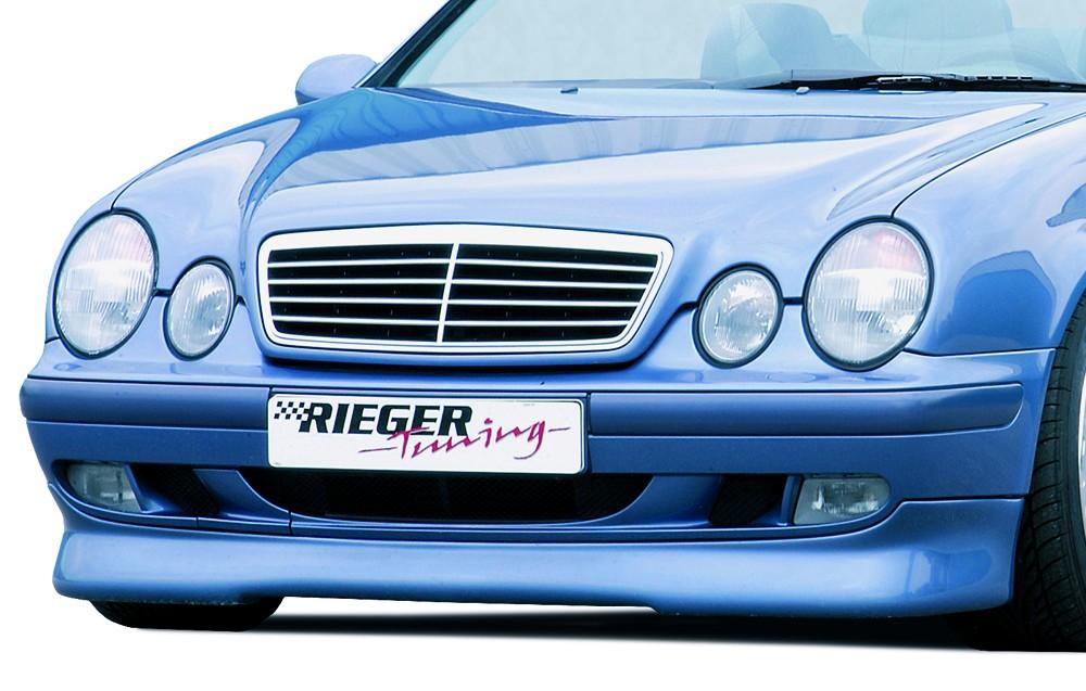 Rieger front spoiler lip (Elegance) Mercedes CLK (W208)