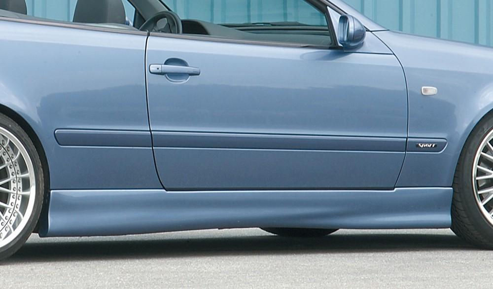 Rieger side skirt Mercedes CLK (W208)