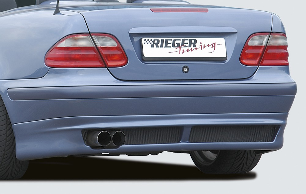 Rieger rear skirt extension Mercedes CLK (W208)