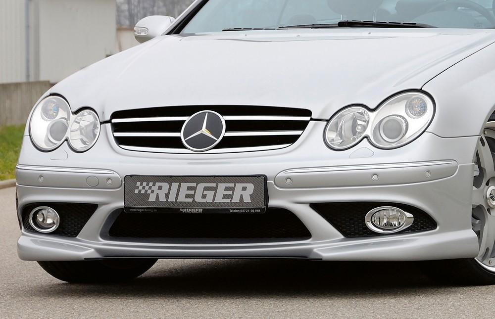 Rieger front spoiler extension Mercedes CLK (W209)