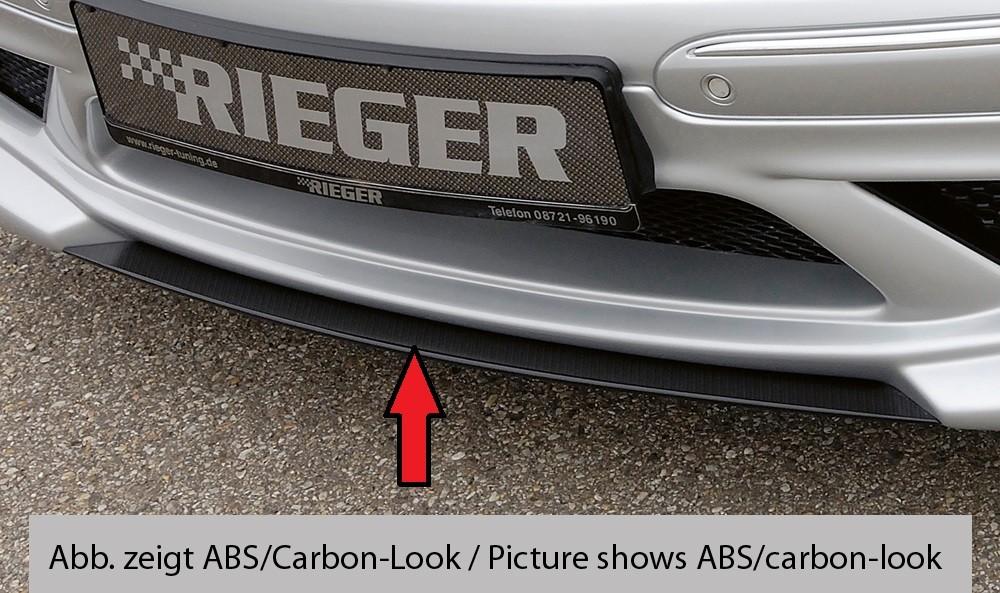 Rieger splitter Mercedes CLK (W209)