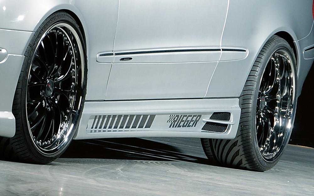 Rieger side skirt Mercedes CLK (W209)