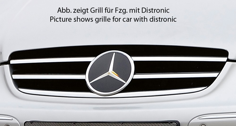 grille black/chrome, Mercedes CLK (W209) Mercedes CLK (W209)