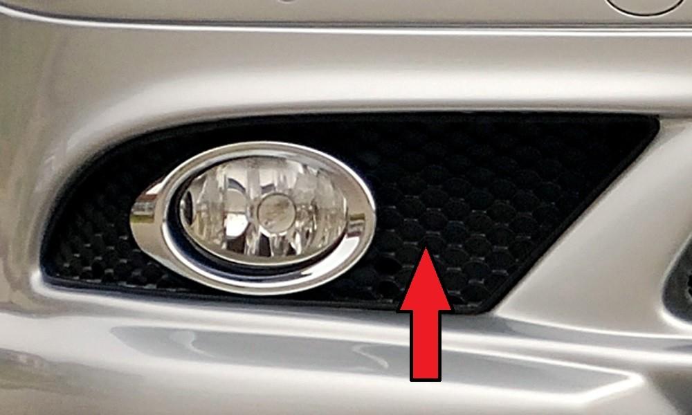 Gitter rechts orig. SL (R230) Mercedes CLK (W209)