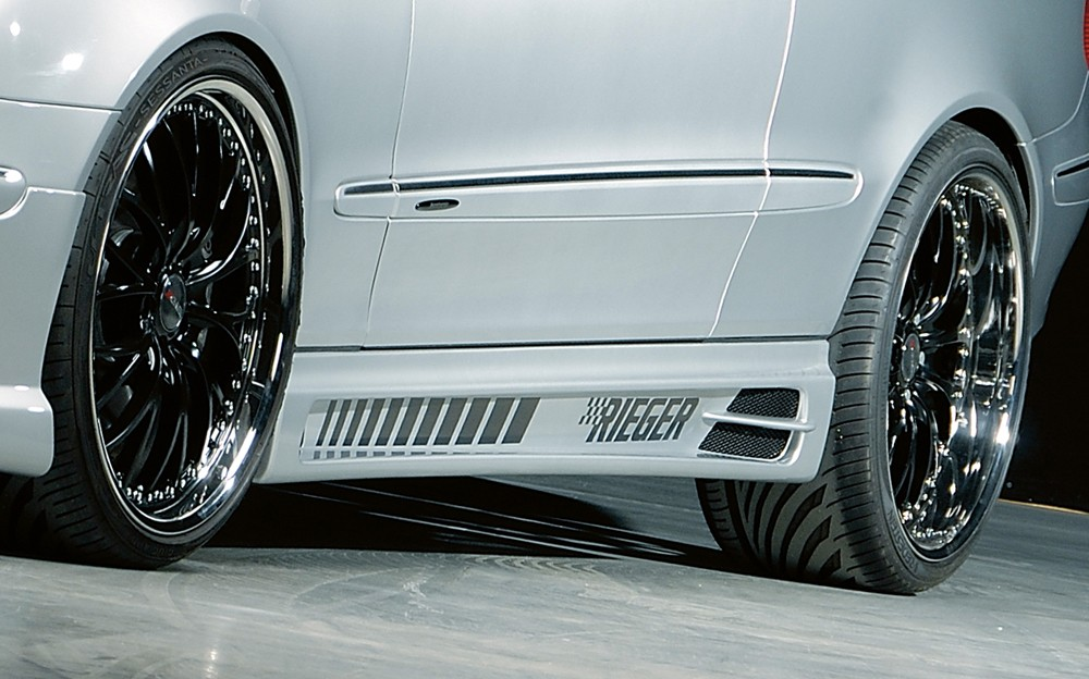Rieger side skirt Mercedes CLK (W209)