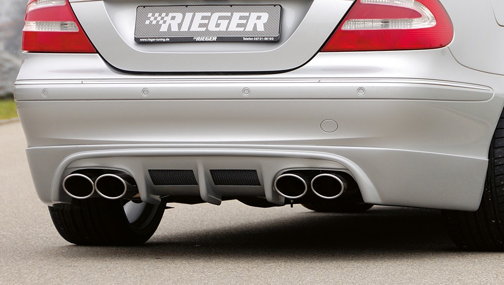 Rieger rear skirt extension Mercedes CLK (W209)