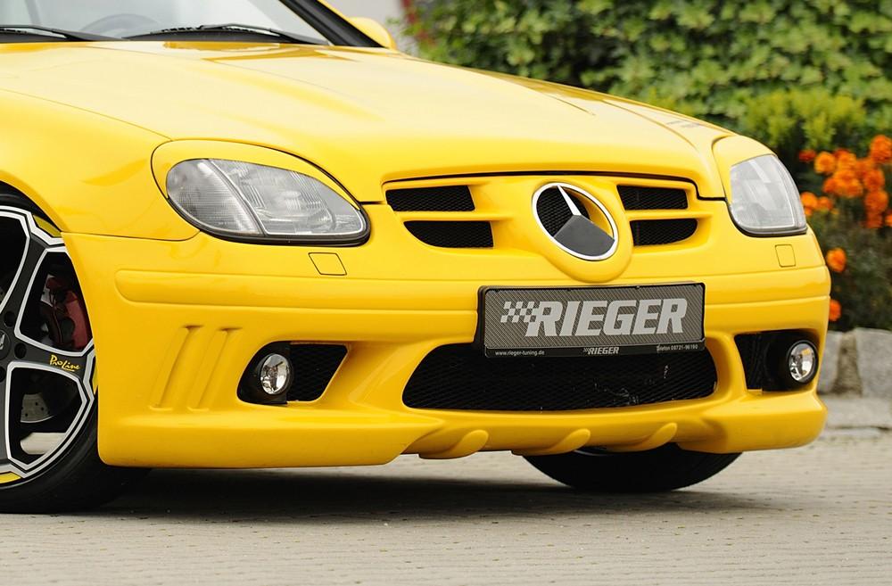 Rieger front bumper Mercedes SLK (R170)