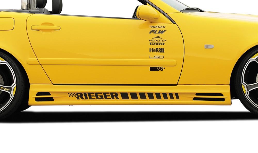 Rieger side skirt Mercedes SLK (R170)