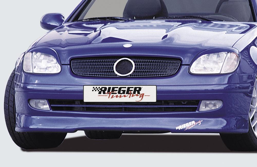 Rieger front spoiler lip   Mercedes SLK (R170)