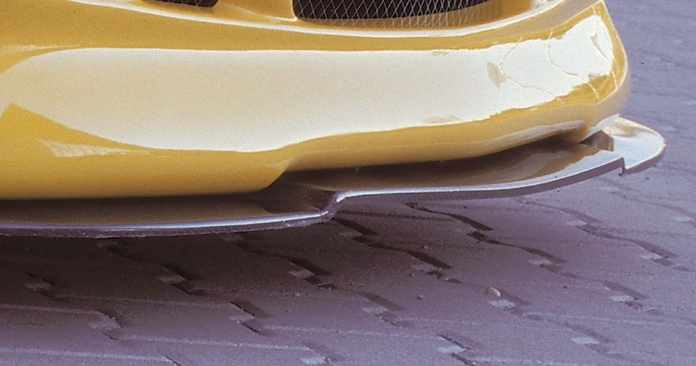 Rieger splitter Mercedes SLK (R170)