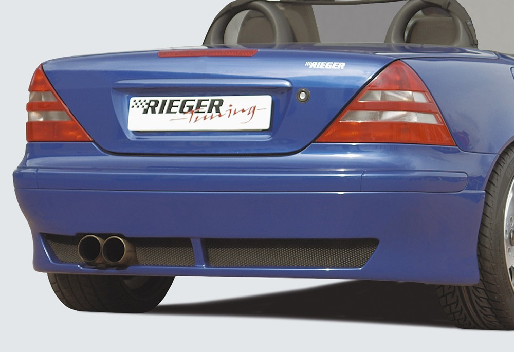 Rieger rear skirt extension Mercedes SLK (R170)