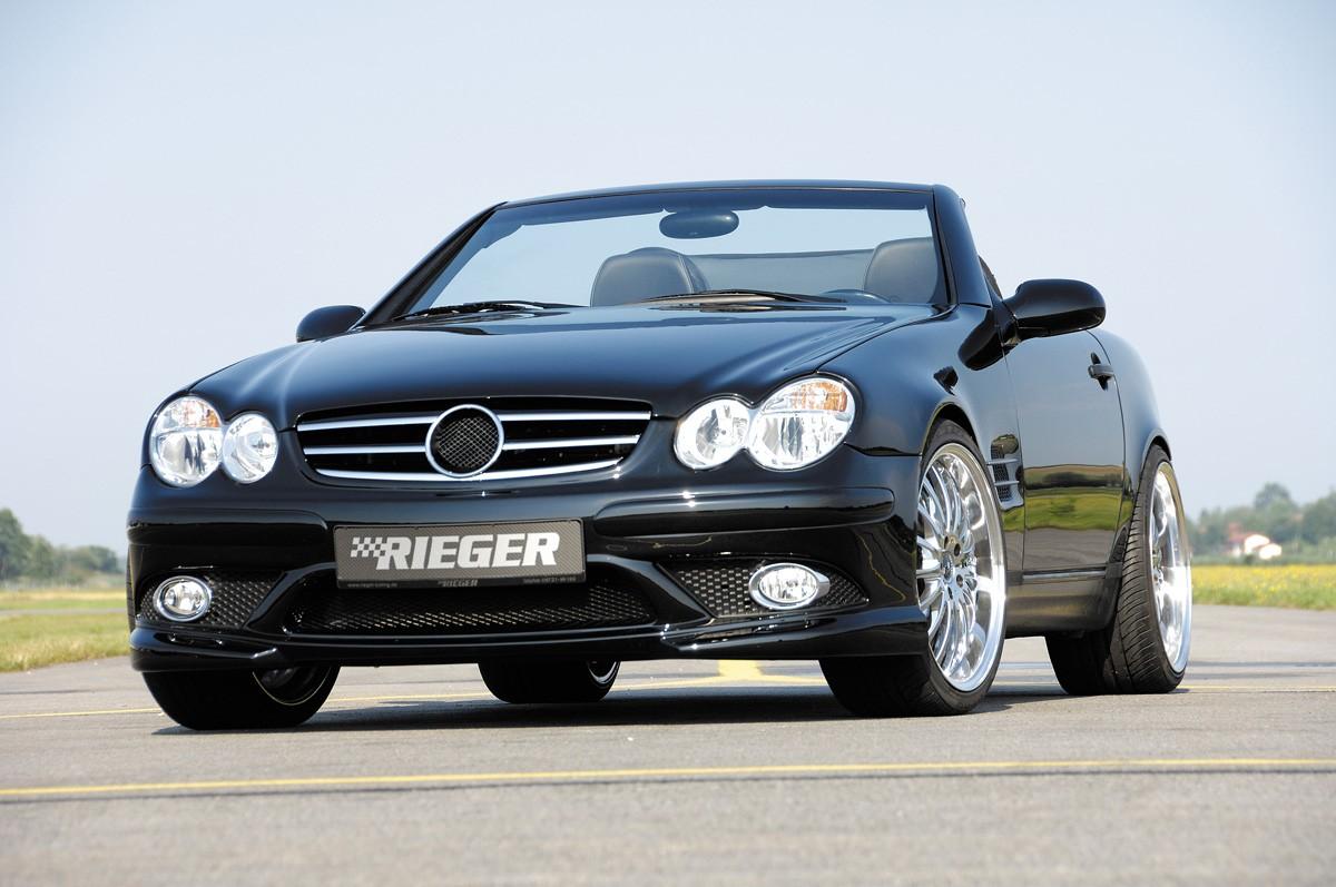 Rieger front bumper SL-Look  Mercedes SLK (R170)