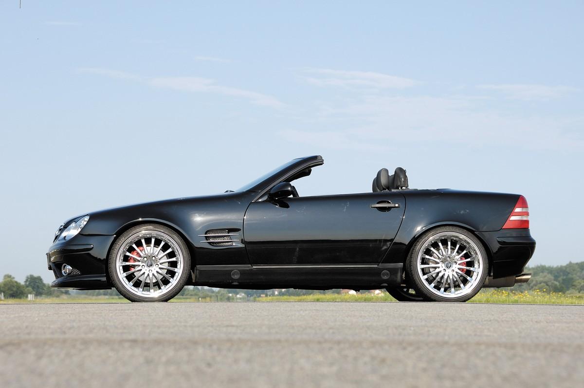 Rieger fender SL-Look  Mercedes SLK (R170)