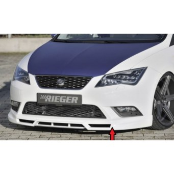 Rieger front spoiler lip Seat Leon (5F)