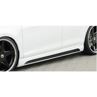 Talonera izquierda carbon look Seat Leon (5F)  Cupra