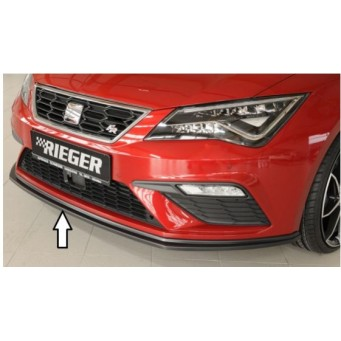 Rieger front splitter Seat Leon FR (5F)