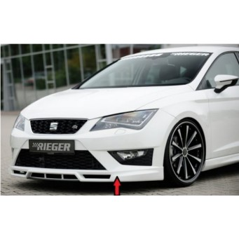 Rieger front spoiler lip Seat Leon FR (5F)