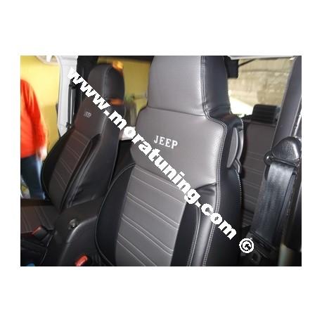 Fundas a medida asientos Jeep