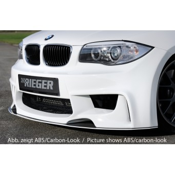Rieger splitter   BMW 1-series E81 (187/1K2/1K4)