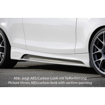 Rieger side skirt   BMW 1-series E81 (187/1K2/1K4)