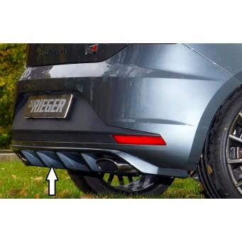Rieger rear skirt insert Seat Leon Cupra (5F)