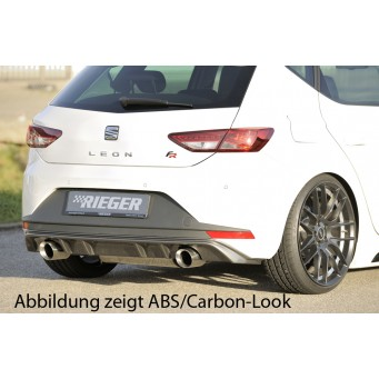 Rieger rear skirt insert Seat Leon FR (5F)