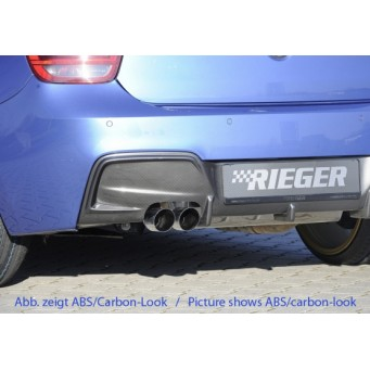 Rieger rear skirt insert BMW 1-series F21  (1K2)