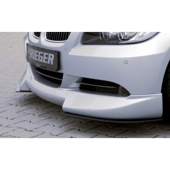 Rieger front spoiler lip   BMW 3-series E91