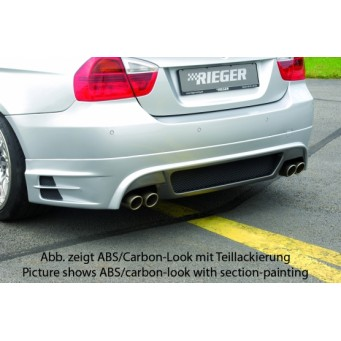 Rieger rear skirt extension BMW 3-series E91