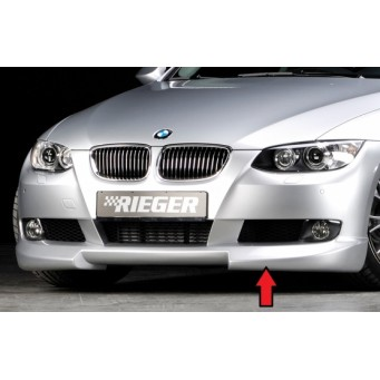 Rieger front spoiler lip BMW 3-series E92