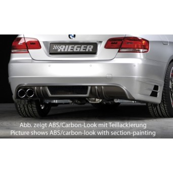 Rieger rear skirt extension   BMW 3-series E93