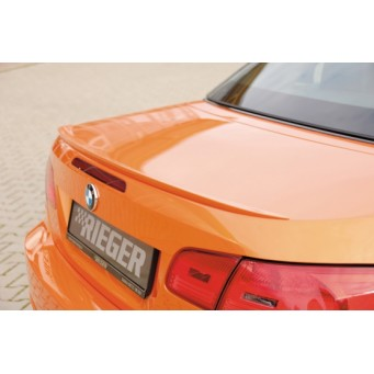 Rieger rear flap spoiler   BMW 3-series E93