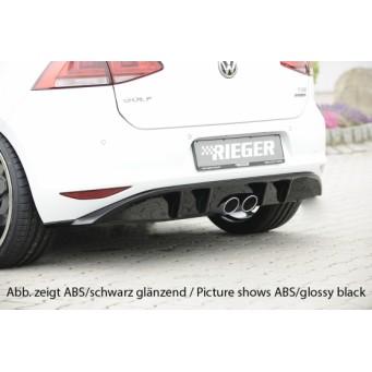 Rieger rear skirt insert VW Golf 7