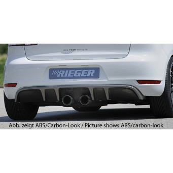 Rieger rear skirt insert VW Golf 6