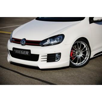 Rieger front spoiler lip VW Golf 6 GTI