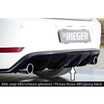 Rieger rear skirt insert VW Golf 6 GTI