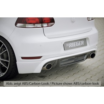 Rieger rear skirt extension VW Golf 6 GTI