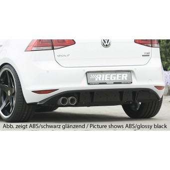 Rieger rear skirt insert VW Golf 7 GTD