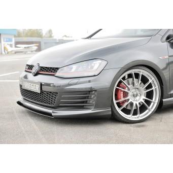 Rieger front spoiler lip VW Golf 7 GTD