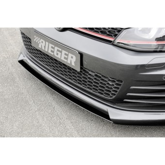 Rieger splitter VW Golf 7 GTD